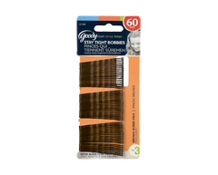 Image of product Goody - Bobby Pins, 60 units, Brown