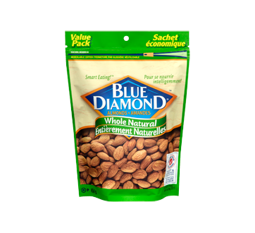 Whole Natural Almonds, 454 g