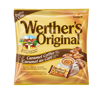 Image of product Werther's Original - Hard Candy Coffee Caramel, 135 g