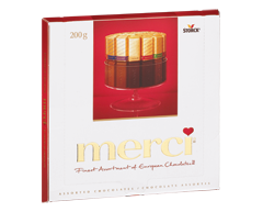 Image of product Merci - Assorted Chocolate, 200 g