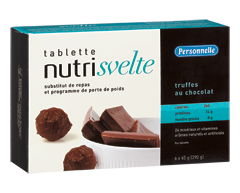 Image of product Personnelle - Nutrisvelte Meal Replacement Bars, 6 x 390 g, Chocolate Truffle