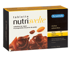 Image of product Personnelle - Nutrisvelte Meal Replacement Bars, 6 x 390 g, Mocha Almond