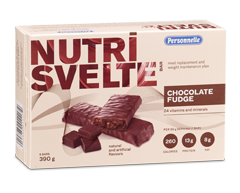 Image of product Personnelle - Nutrisvelte Meal Replacement Bars, 6 bars, Chocolate Fudge