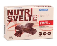 Image of product Personnelle - Nutri Svelte Meal Replacement Bars, 6 x 65 g, Belgian Chocolate