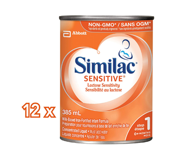 Image 2 of product Similac - Similac Sensitive Concentrate, 12 x 385 ml