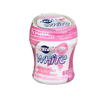 Excel White Bubblemint, 60 units