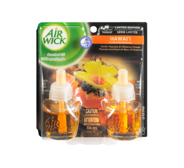 Life Scents Scented Oil Refill, 2 x 20 ml, Island Paradise