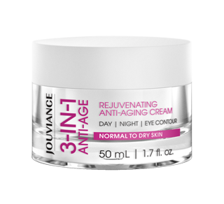 3-in-1 Anti-Age Rejuvenating Cream, 50 ml, Normal to Dry Skin