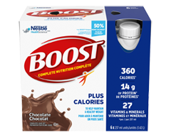 Image of product Nestlé - Boost Plus, 6 x 237 ml, Chocolate