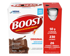 Image of product Nestlé - Boost, 6 x 237 ml, Chocolate