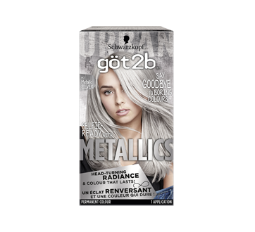 Metallics Permanent Hair Color, 1 unit