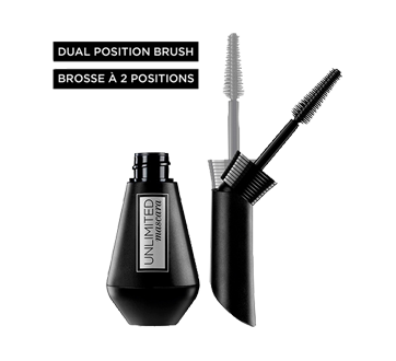 Image 2 of product L'Oréal Paris - Unlimited Mascara, 7 ml Blackest Black