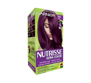 Image 2 of product Garnier - Nutrisse Ultra Color Permanent Hair Colour, 1 unit 526 Deep Lilac