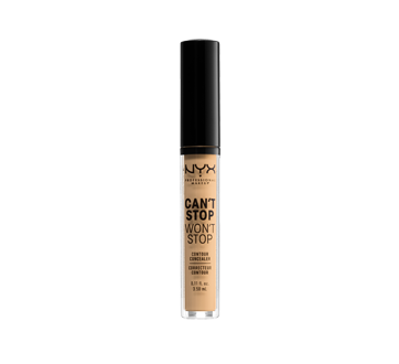 Image of product NYX Professional Makeup - Can't Stop Won't Stop Contour Concealer, 1 unit True Beige