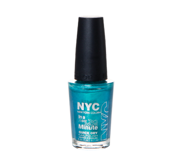 NYC New York Color In a Minute quick dry nail polish, 9.7 ml – NYC ...