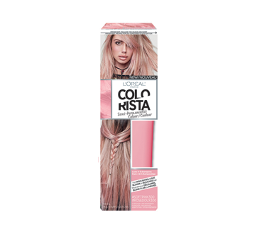 Image of product L'Oréal Paris - Colorista - Colorista Semi-Permanent Haircolour , 118 ml Soft Pink
