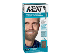 Image of product Just For Men - Mustache and Beard Colour Gel, 1 unit