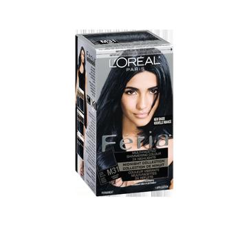 Image 2 of product L'Oréal Paris - Féria - Haircolour, 1 unit, Midnight M31 - Cool Soft Black
