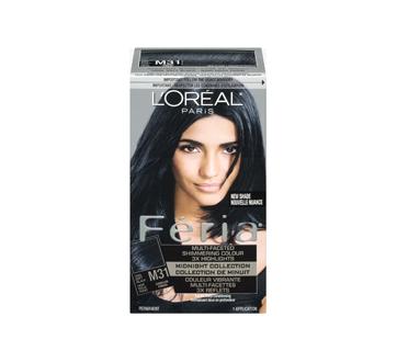 Image 3 of product L'Oréal Paris - Féria - Haircolour, 1 unit, Midnight M31 - Cool Soft Black