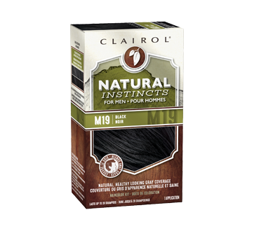 Natural Instincts Semi-Permanent Hair Color for Men, 1 unit