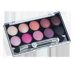 Image du produit Personnelle Cosmétiques - Palette d'ombres à paupières, 10 x 0,9 g