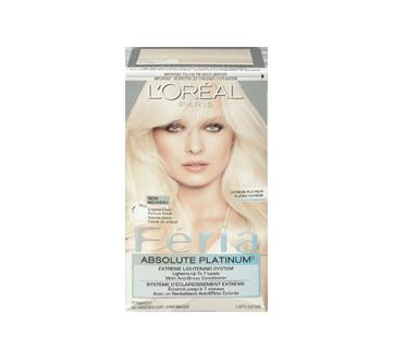 Image 3 of product L'Oréal Paris - Féria - Haircolour, 1 unit, Absolute Platinum Extreme Platinum