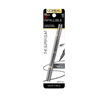 Image du produit L'Oréal Paris - Infallible The Super Slim traceur liquide, 1,5 ml gris