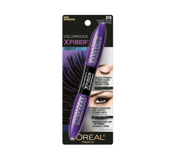 Voluminous X-Fiber mascara hydrofuge, 12,7 ml