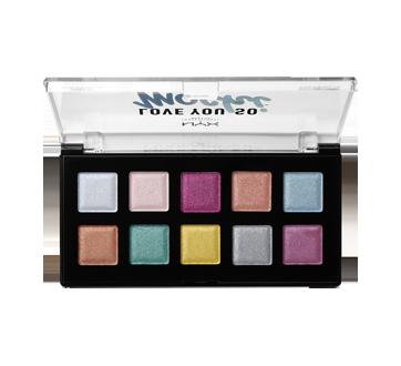 Image 2 du produit NYX Professional Makeup - Love You so Mochi palette d'ombres à paupières, 1 unité Electric Pastels