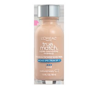 True Match Super-Blendable Foundation SPF 17, 30 ml
