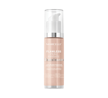 Image of product Marcelle - Flawless Luminous Foundation, 27 ml Classic Ivory