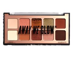 Image du produit NYX Professional Makeup - Away We Glow palette d'ombres à paupières, 1 unité