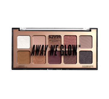 Away We Glow Eyeshadow Palette, 1 unit