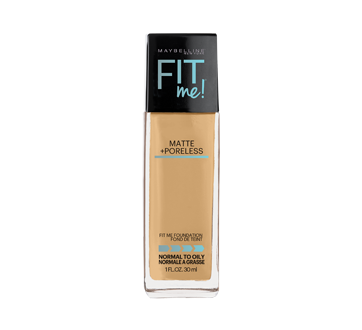 Image of product Maybelline New York - Fit Me Matte + Poreless Foundation, 30 ml Rich Tan