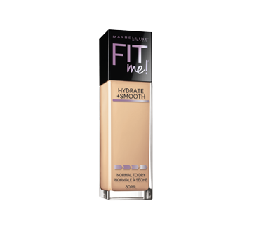 Fit Me Hydrate + Smooth fond de teint FPS 18, 30 ml