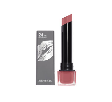 Image of product CoverGirl - Exhibitionist Ultra Matte Lipstick, 1 unit Stay With Me