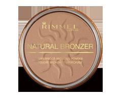 Image of product Rimmel London - Natural Bronzer Waterproof Bronzing Powder, 14 g