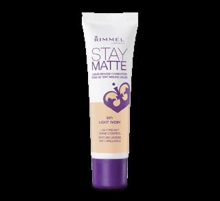 Stay Matte fond de teint mousse liquide, 30 ml