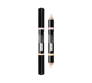 Duo Highlighter Matt & Shine crayon illuminateur pour les yeux, 4,2 g