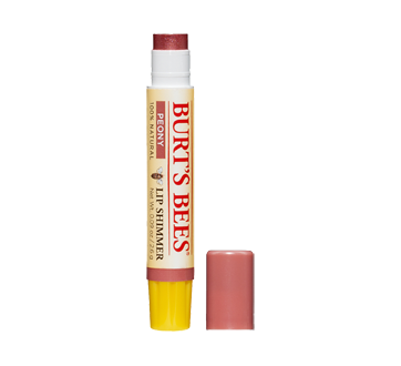Image 2 of product Burt's Bees - 100% Natural Lip Shimmer, 2.6  g Peony