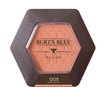 Image 1 of product Burt's Bees - 100% Natural Blush with Vitamin E, 5.38 g Bare Peach