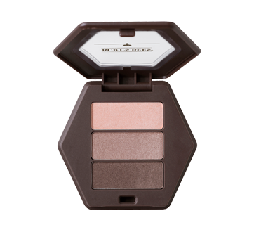 Image 2 of product Burt's Bees - 100% Natural Eye Shadow Palette with 3 Shades, 3.4 g Shimmering Nudes