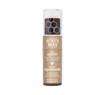 Image 1 of product Burt's Bees - 100% Natural All Aglow Highlighter Stick, 9.07 g Opal Mist