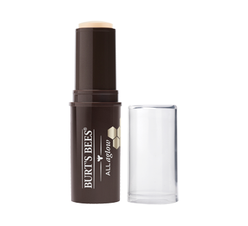 Image 2 of product Burt's Bees - 100% Natural All Aglow Highlighter Stick, 9.07 g Opal Mist