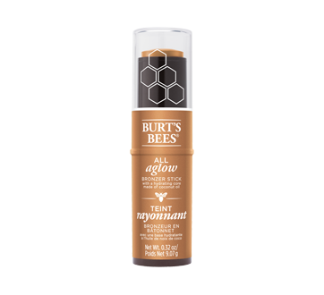 Image 1 of product Burt's Bees - 100% Natural All Aglow Bronzer Stick, 9.07 g Golden Shimmer