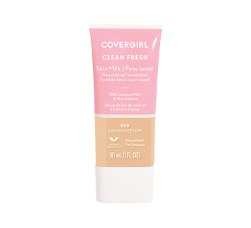 Image of product CoverGirl - Clean Fresh Skin Milk Foundation, 30 ml Light/Med #550