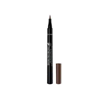 Image 2 du produit Rimmel London - Brow Pro Micro feutre à sourcils micro-pointe fini naturel 24h, 1 unité Soft Brown