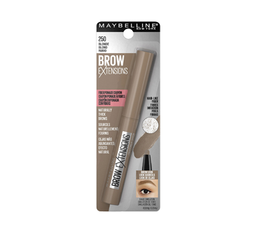 Image 2 of product Maybelline New York - Brow extensions Crayon, 0.4 g Blonde
