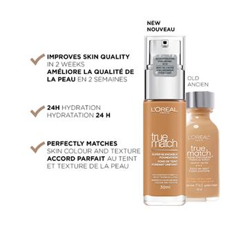 Image 2 du produit L'Oréal Paris - True Match fond de teint fondant unifiant, 30 ml 1N - Ivoire