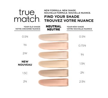 Image 6 du produit L'Oréal Paris - True Match fond de teint fondant unifiant, 30 ml 1N - Ivoire